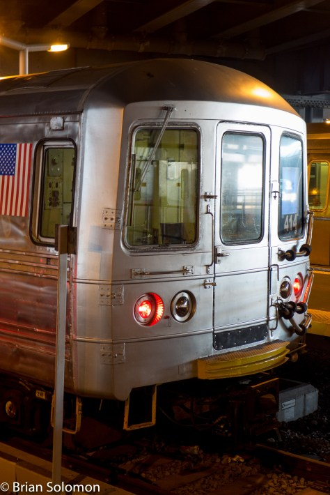 Here's the face of the Staten Island Railway.