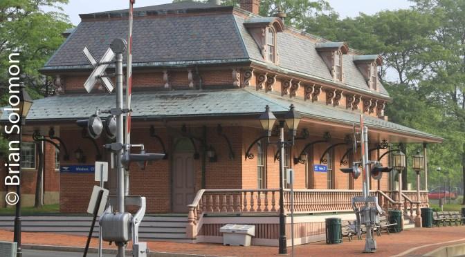 Amtrak's Windsor, Connecticut Station.