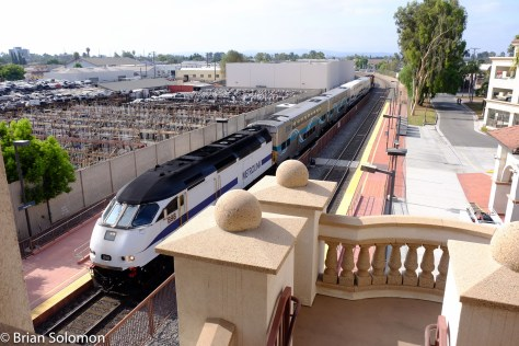 Metrolink 633 is among Metrolink's services that doesn't serve Los Angeles Union Station. This is a short-turn that runs from Laguna Niguel/Mission Viejo to Fullerton.