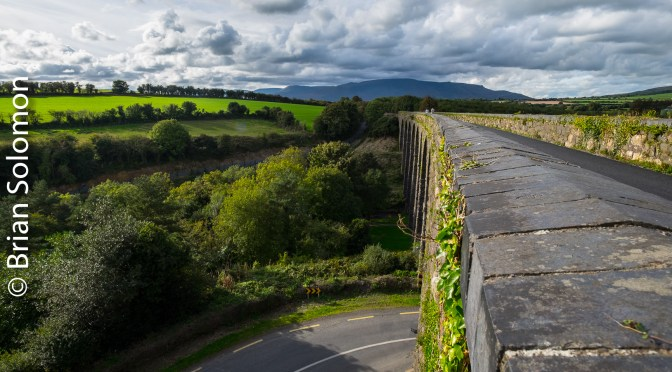 Waterford Greenway-old railway viaduct at Kilmacthomas.