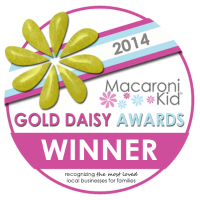 Winner of the 2014 Macaroni Kid Gold Daisy Award for Best Preschool