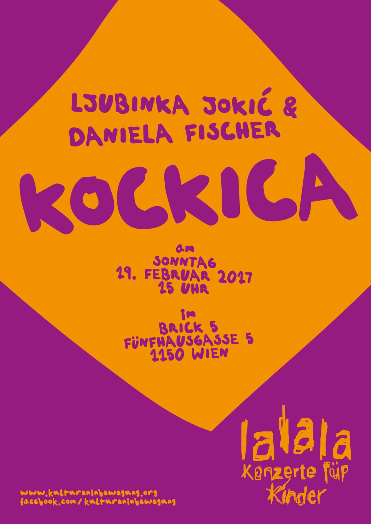 "Lalala – Konzerte für Kinder: ""Kockica"""