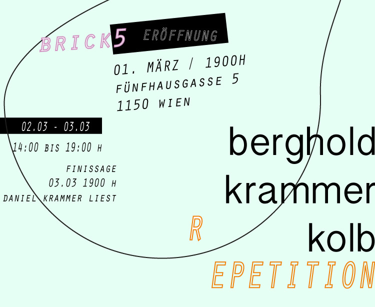 Repetition: Rene Bergholdx Jakob Kolb x Daniel Krammer