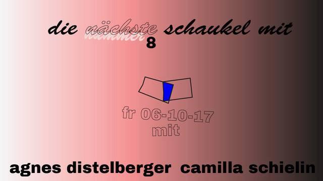 OPENING // Die Schaukel #8 // Agnes Distelberger x Camilla Schielin