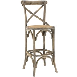 Contemporary Lear Seats X Distressed Grey Wood Barstool X Wood Barstool Brickell Collection Furniture Store Wood Bar Stools Walmart Wood Bar Stools