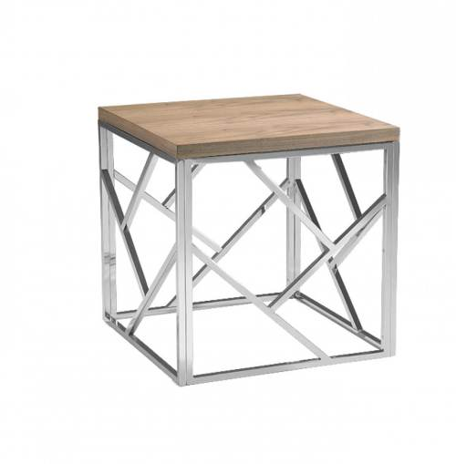 Snazzy Aero Chrome Wood Side Table Aero Chrome Wood Side Table Furniture Brickell Collection Wood Side Table Canada Wood Side Table Stool