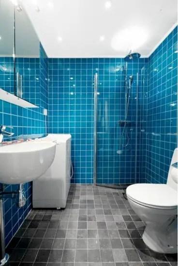 jolie salle de bain bleu Choisir la couleur de la salle de bain   21 Idées de couleurs