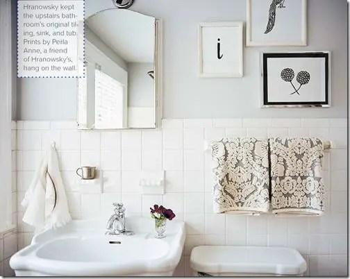 salle de bain blanche 3 Choisir la couleur de la salle de bain   21 Idées de couleurs