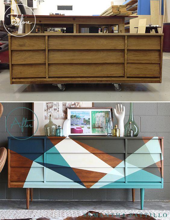 renovar muebles pintándolos