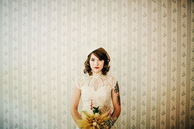 How to Wear a Bob for your Wedding   Bridal Bobs   Bridal Musings Wedding Blog 22