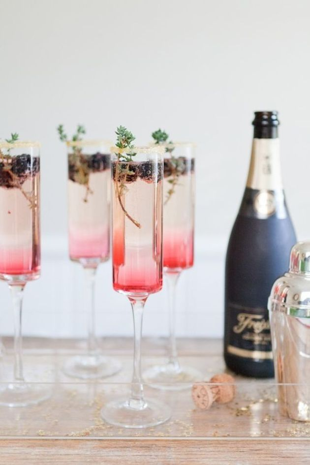 Cute Cocktails | Wedding Ideas | Bridal Musings Wedding Blog 7