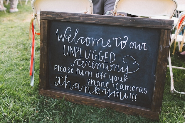 UNPLUGGED VS PLUGGED-IN TOP TIPS FOR TECHNOLOGY ETIQUETTE AT WEDDINGS
