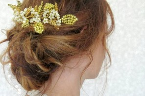 Interview with Forest of Wildflowers, bridal hairpieces