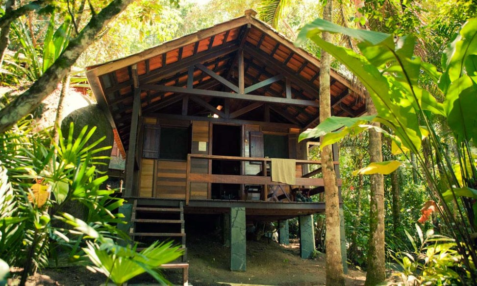 Our cabin at Sea and Forest