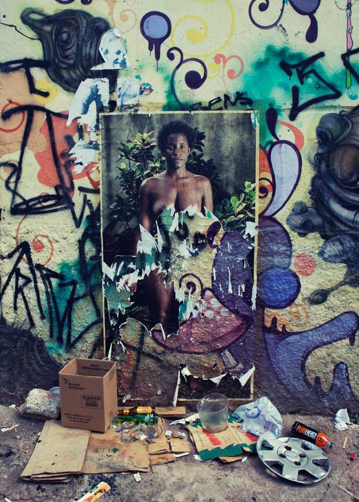 paper man graffiti Sao Paulo