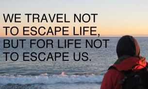 Living the life you want to, not the life you think you should: inspiration from Travel Bloggers Unite
