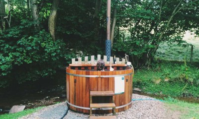 Video: Off-grid glamping at The Huts in the Hills, Wales