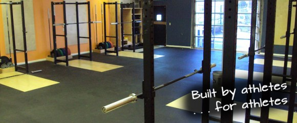 Buit by ahletes for atheletes Bridgetown CrossFit View of Room