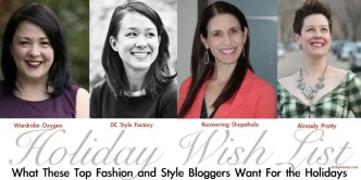 Fashion Bloggers want for the holidays