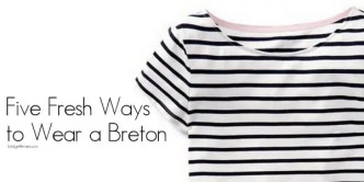 how to wear a breton