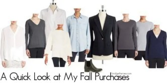 My fall purchases