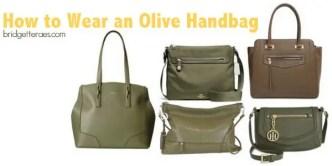 Olive handbags