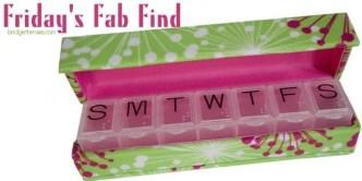 Designer Pill Box Case