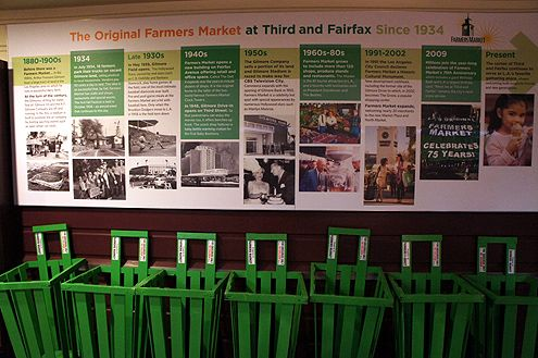 The Farmers Market at 3rd and Fairfax has done a good job at branding and providing historical context