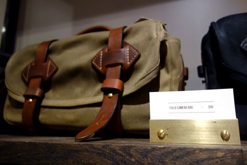 Tanner Goods field camera bag