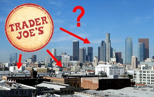 Rumors from substantial sources now confirm that Trader Joe's is actively looking for a location to open in Downtown LA with no definitive timeline yet