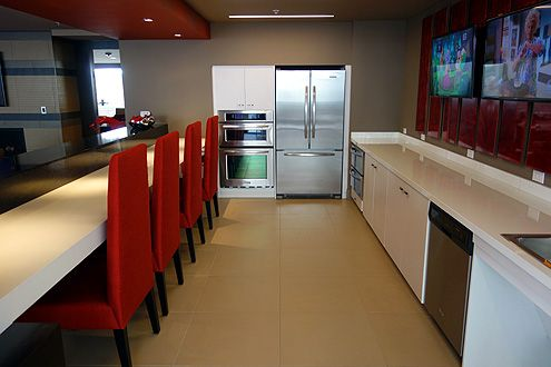 Kitchen inside the clubroom