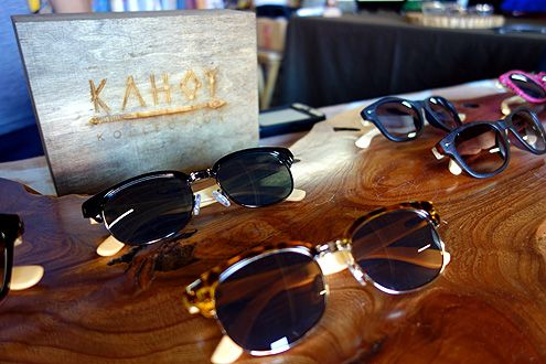 This local sunglasses company, Kahoy Kollection, is from Long Beach