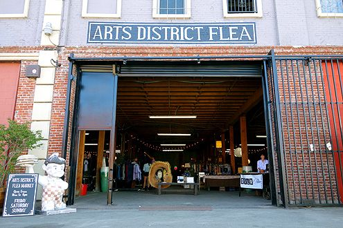 The Arts District Flea -- a permanent indoor flea market -- officially launched this past weekend at 453 Colyton Street near Urth Caffe