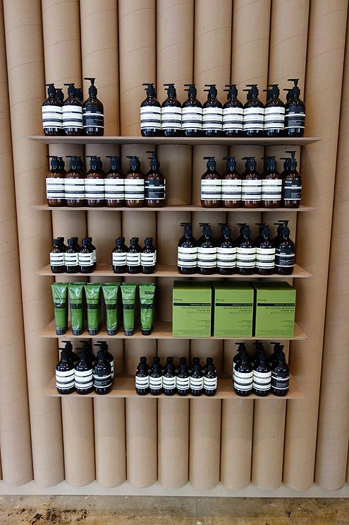 Aesop carries a wide range of skincare and beauty products