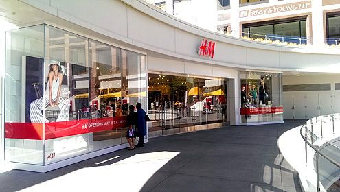 The largest H&M flagship store in Southern California will be opening their doors on Thursday, May 1, 2014 at noon at FIGat7th in Downtown LA
