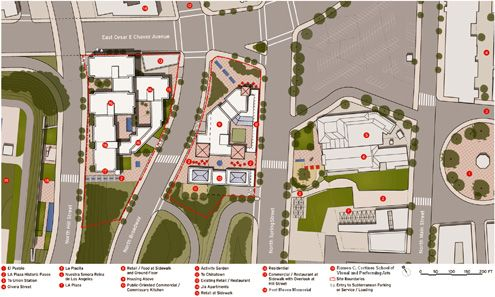 (Click to enlarge) LA Plaza site plan (Photo: LA Plaza de Cultura y Artes)
