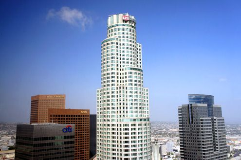 Library Tower (aka US Bank Tower): The tallest skyscraper on the west coast to get an observation deck by 2015