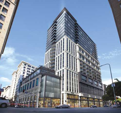 Holland Partner Group is slated to break ground on a new 24 story residential high-rise this fall (Photo: Holland Partner Group / MVE Architects)