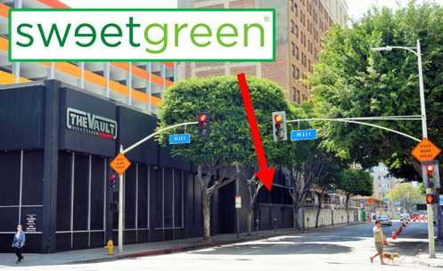 Sweetgreen, the salad chain from DC with 30 locations in the country, is opening on 8th Street near the new Whole Foods in Downtown LA
