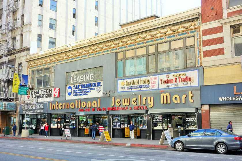 The Int'l Jewelry Mart was sold last month in Nov for $14.7 million at about $408 square foot to New York investor Atlas Capital