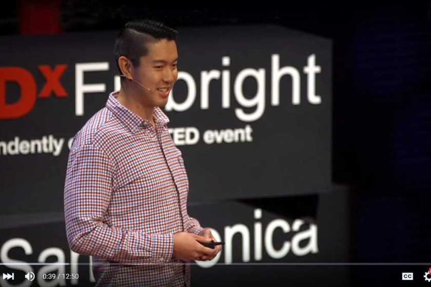"""Brigham Yen, the blogger behind DTLA Rising, gives a Tedx Talk about """"Downtown LA rising,"""" or why DTLA is the future of Los Angeles"""