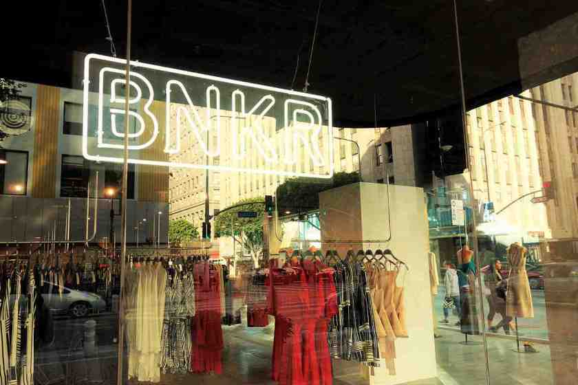 Australia's Bunker has debuted in the US with its new 6,000 square foot flagship store at 9th/Broadway in Downtown LA