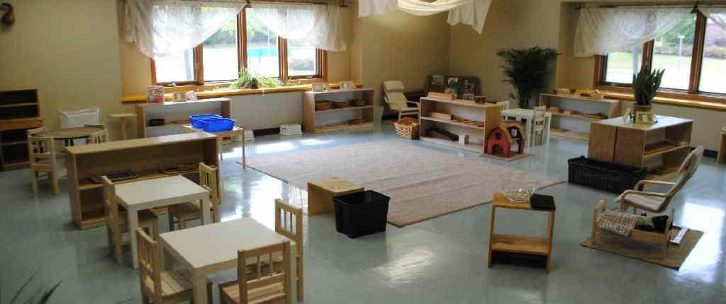 Bright Child Montessori Preschool classroom