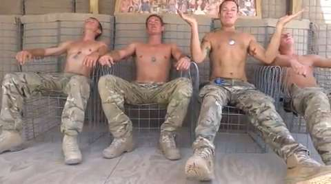 naked female soldiers in iraq