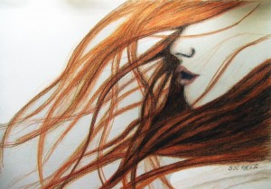 Amy Pond drawing