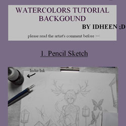 Watercolour Background Tutorial