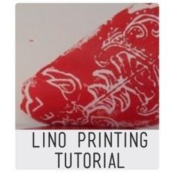 Lino printing tutorial