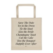 Wedding List Tote
