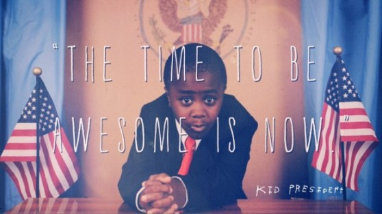 Kid President teaches us to be awesome