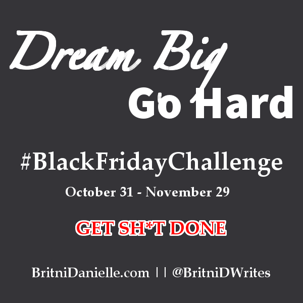 Are You Up For the #BlackFridayChallenge?